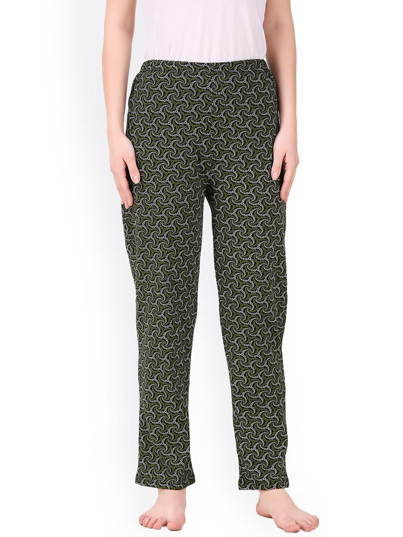 Masha Black   Green Printed Pyjamas PJ A5 55