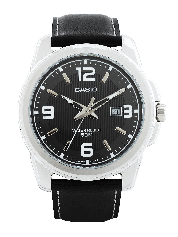 Casio Enticer Men Black Analogue watch A554 MTP 1314L 8AVDF
