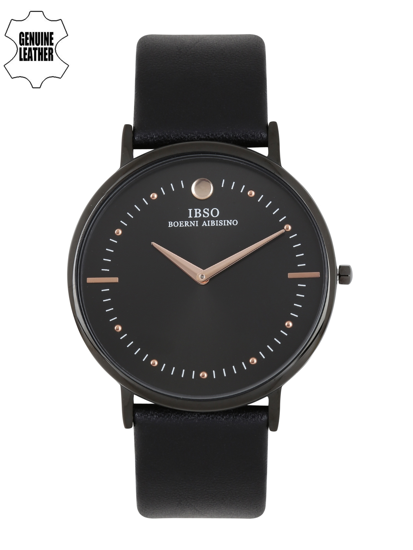 IBSO Men Black Analogue Watch 16151 GBK