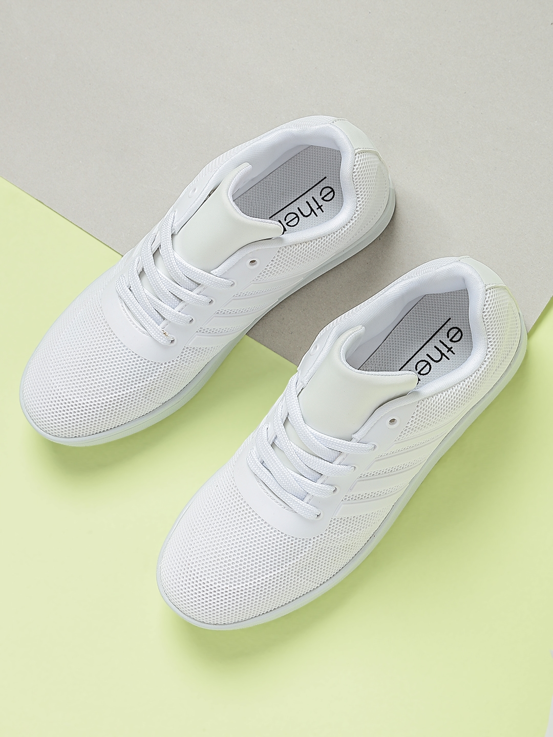 b3c380728f Buy Ether Women White Sneakers - Casual Shoes for Women 2102048 | Myntra