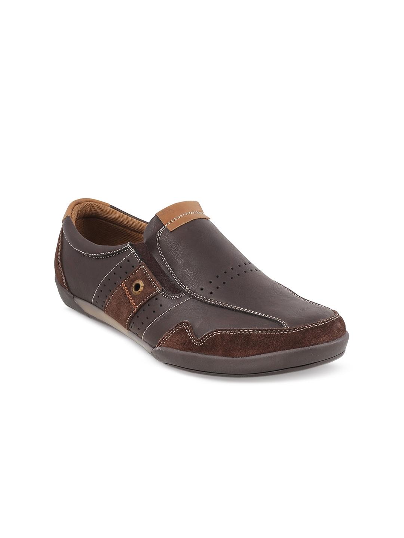9c3ad511467bf Buy Metro Men Brown Slip On Sneakers - Casual Shoes for Men 2106278 ...