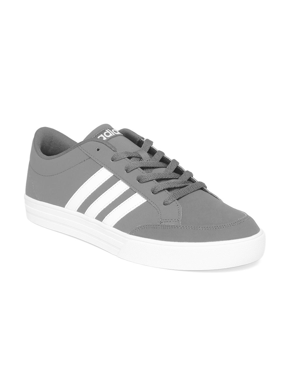 Adidas NEO Men Grey VS Set Sneakers
