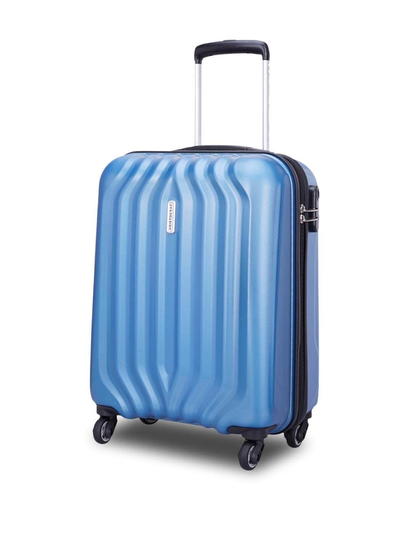 ce303ba363 Buy Aristocrat Unisex Blue Aston Cabin Trolley Suitcase - Trolley ...