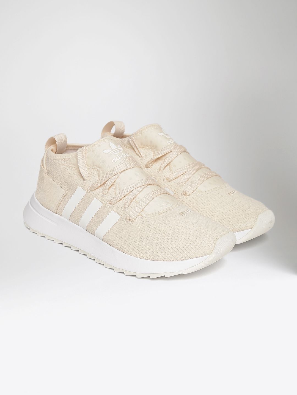 91aa66b0042 Buy ADIDAS Originals Women Cream Coloured FlashBack MID Sneakers ...