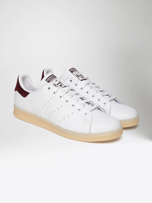 the best attitude 6fcf1 4dea1 ADIDAS Originals Men White STAN SMITH Leather Sneakers