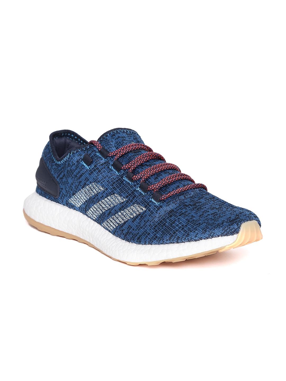 e456ea1cd1100 Buy ADIDAS Men Blue Pureboost Running Shoes - Sports Shoes for Men ...