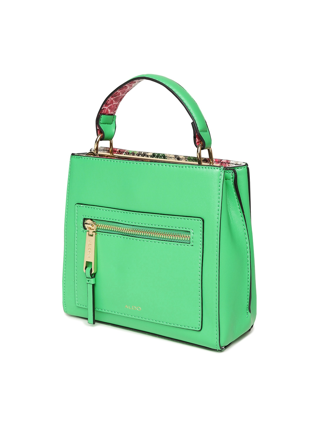b629757c8c7 Buy ALDO Green Solid Handbag With Sling Strap - Handbags for Women ...