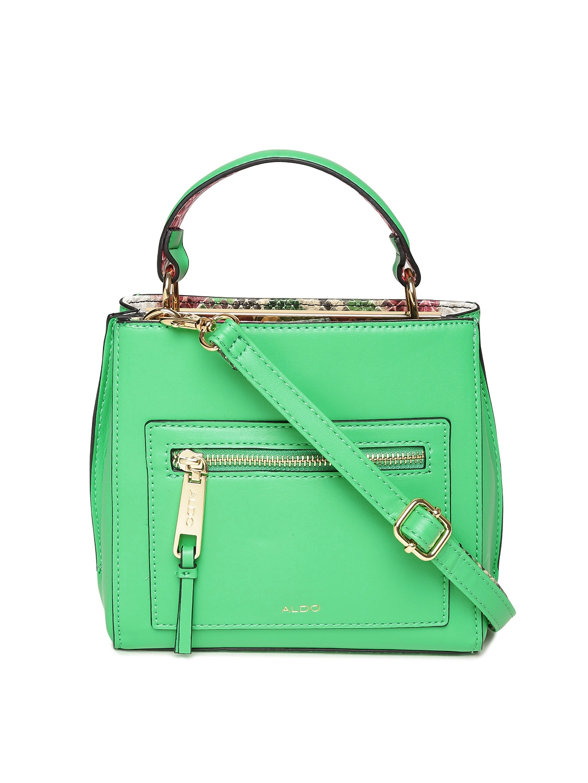 31627ecf3e Buy ALDO Green Solid Handbag With Sling Strap - Handbags for Women ...