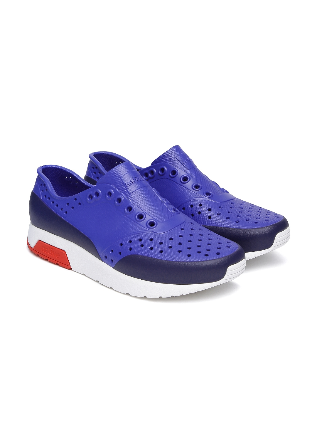 e2010ec68b119 Buy Native Shoes Unisex Blue Lennox Slip On Sneakers - Casual Shoes ...