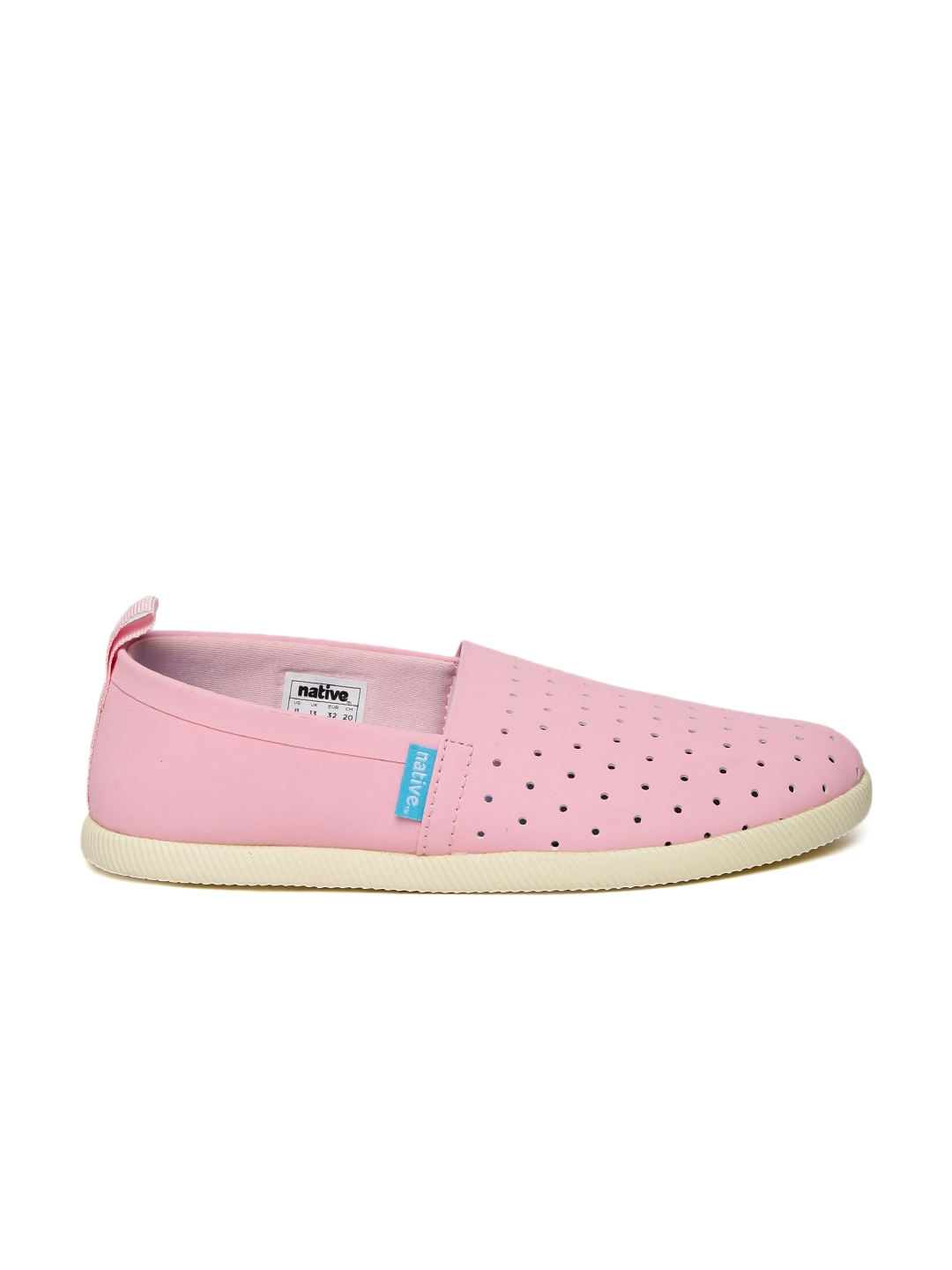 9a2e5c7fb2a Buy Native Shoes Girls Pink Venice Perforated Slip On Sneakers ...