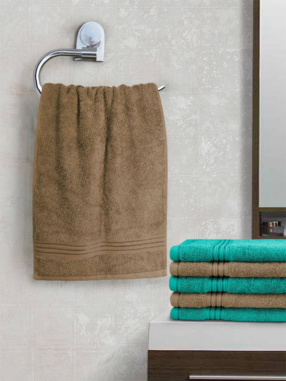 swiss republic Set of 6 Cotton 600 GSM Hand Towels