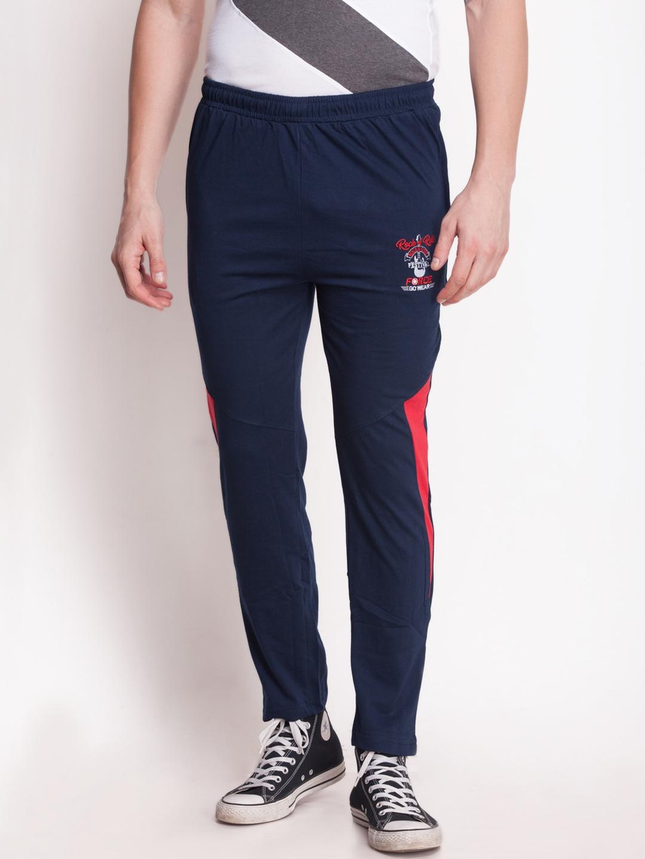 0065d19278 Buy Force Go Wear Navy Slim Fit Track Pants - Track Pants for Men ...