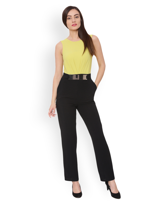 cc9f72dbf75f Buy Avirate Yellow   Black Jumpsuit - Jumpsuit for Women 2133350 ...