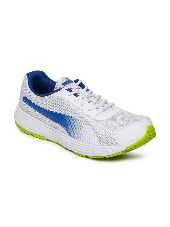 Buy Puma Men White Aeden Running Shoes