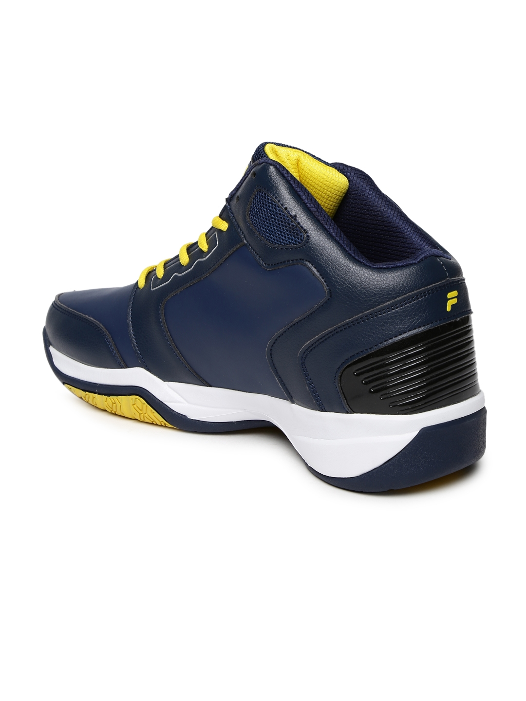 7a5454c9154d Buy FILA Men Blue Synthetic Mid Top Commit 2 Basketball Shoes ...
