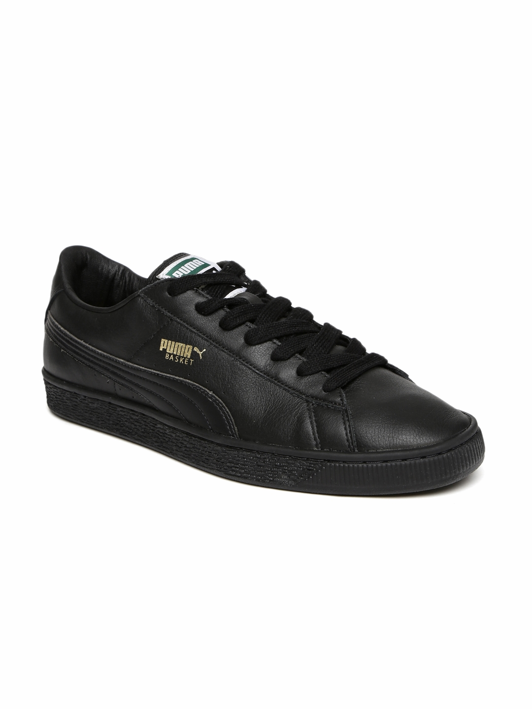aad959a3233d Buy Puma Men Black Basket Classic LFS Sneakers - Casual Shoes for ...