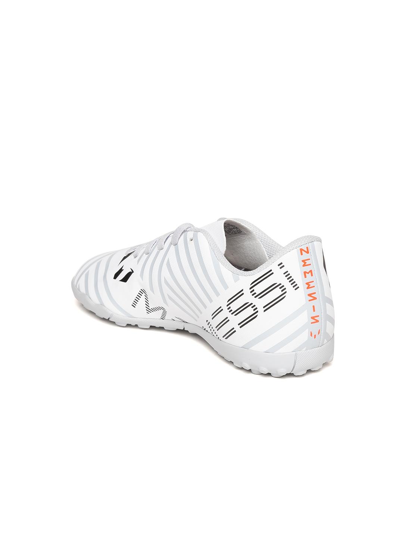 9ac02e4fc Buy ADIDAS Boys White NEMEZIZ MESSI 17.4 TF J Printed Football Shoes ...
