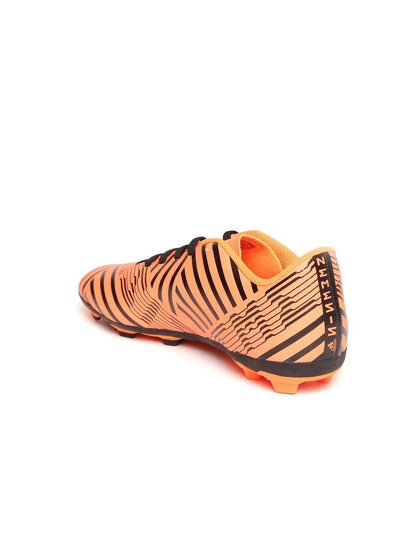 acac169ac8fd Buy ADIDAS Boys Neon Orange NEMEZIZ 17.4 FXG J Printed Football ...