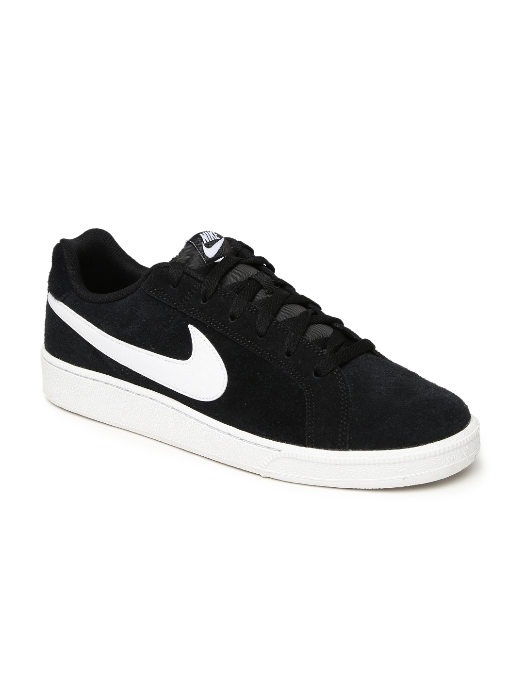 detailed look d87a1 cf0f0 Nike Men Black COURT ROYALE Suede Sneakers