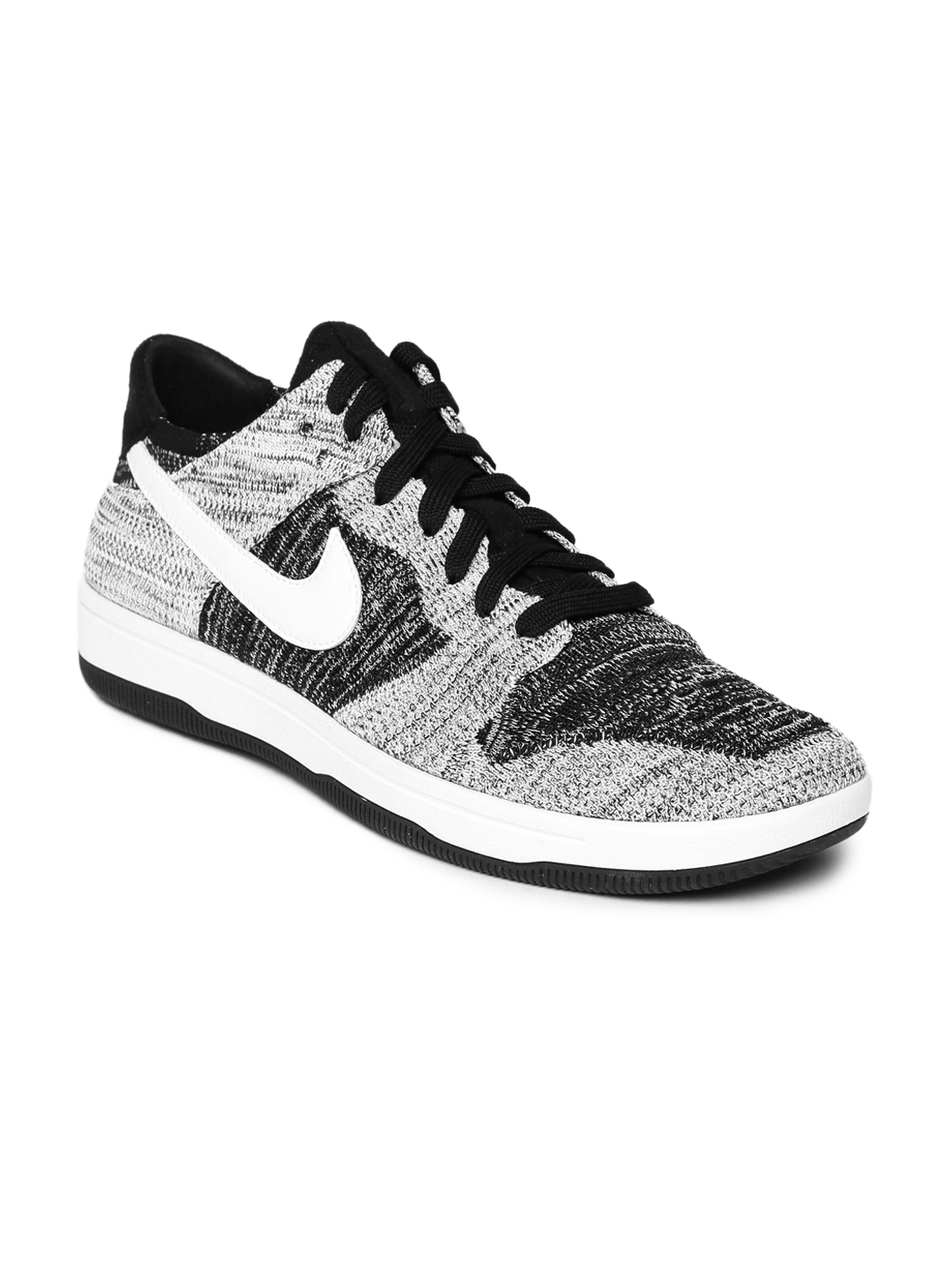 876aad54ecf5 Buy Nike Men Black   White Dunk Flyknit Sneakers - Casual Shoes for ...