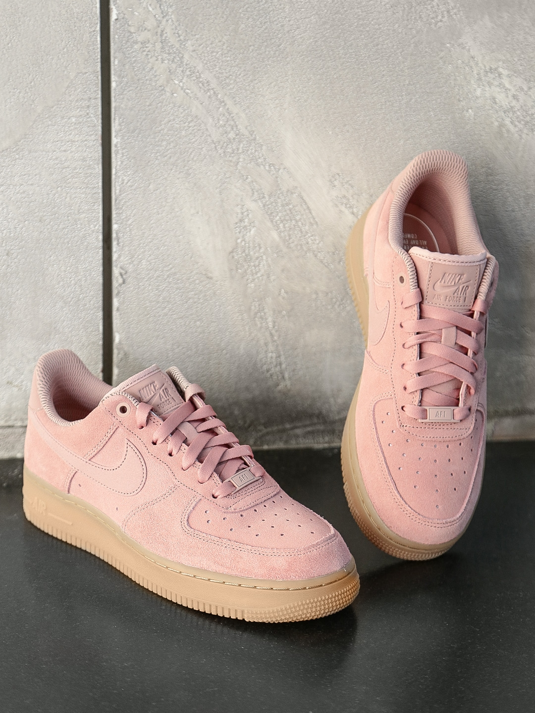 Buy Nike Women Pink AIR FORCE 1  07 Sneakers - Casual Shoes for Women  2147443  ef365e3c71230