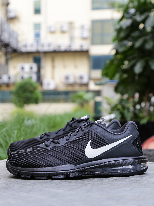 save off d2bd9 1b1d4 Nike Men Black AIR MAX FULL RIDE TR 1.5 Training Shoes