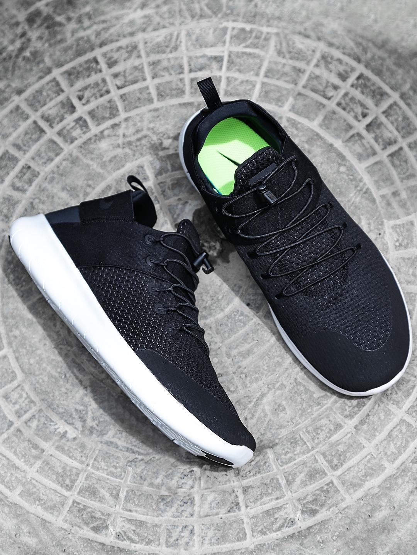 941bbae8ee03 Buy Nike Men Black FREE RN CMTR 2017 Running Shoes - Sports Shoes ...