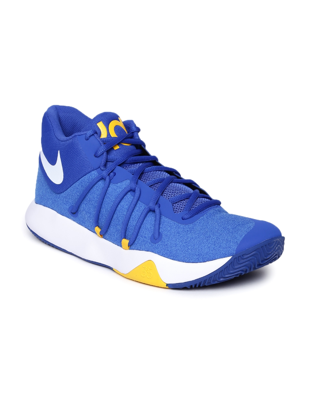 dafc0481a87 Nike Men Blue Textile Mid-Top NBA KEVIN DURANT TREY 5 V Basketball Shoes