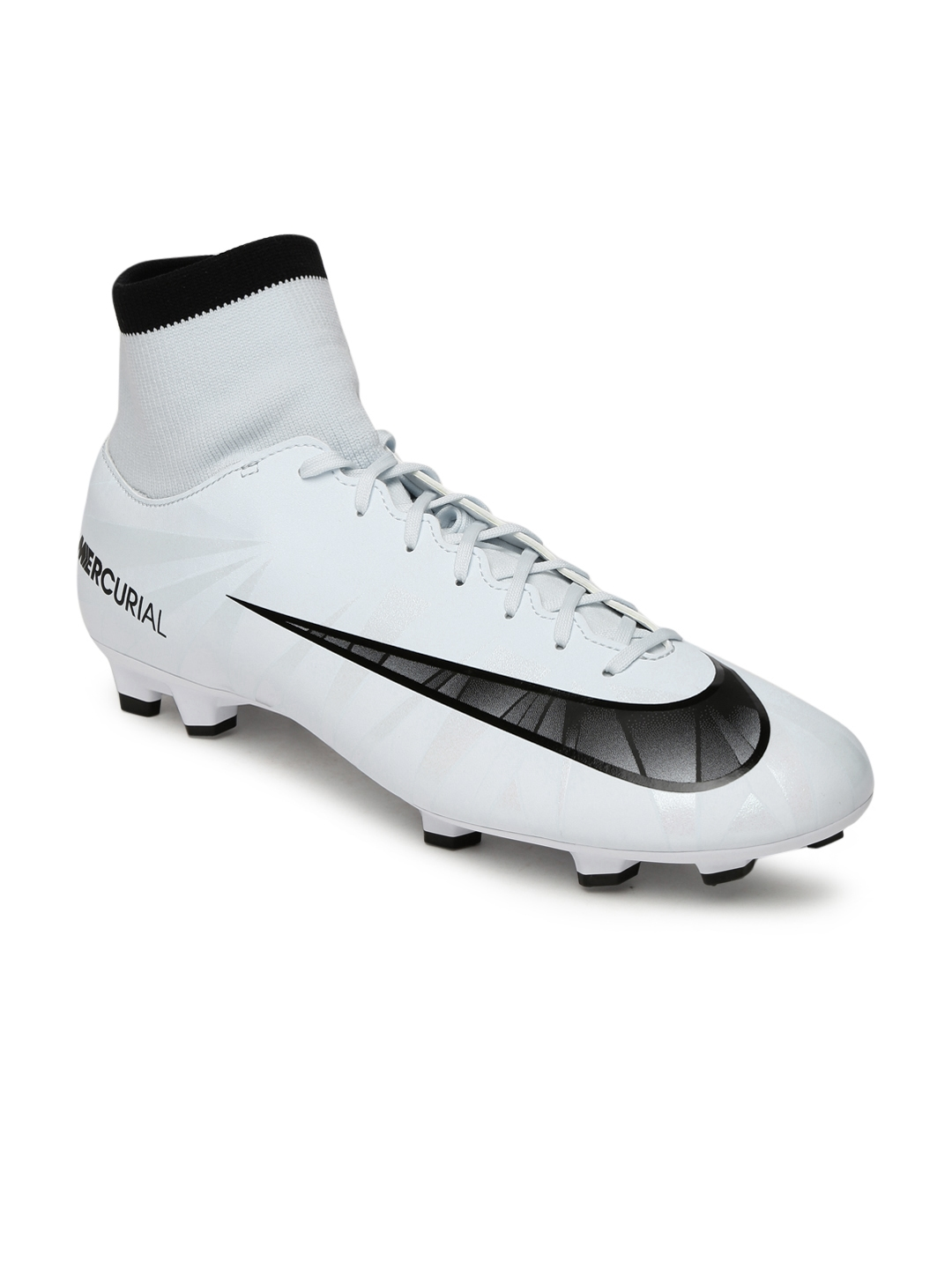 Buy Nike Men White Synthetic High Top VICTORY VI CR7 Football Shoes ... 05f8dab84154
