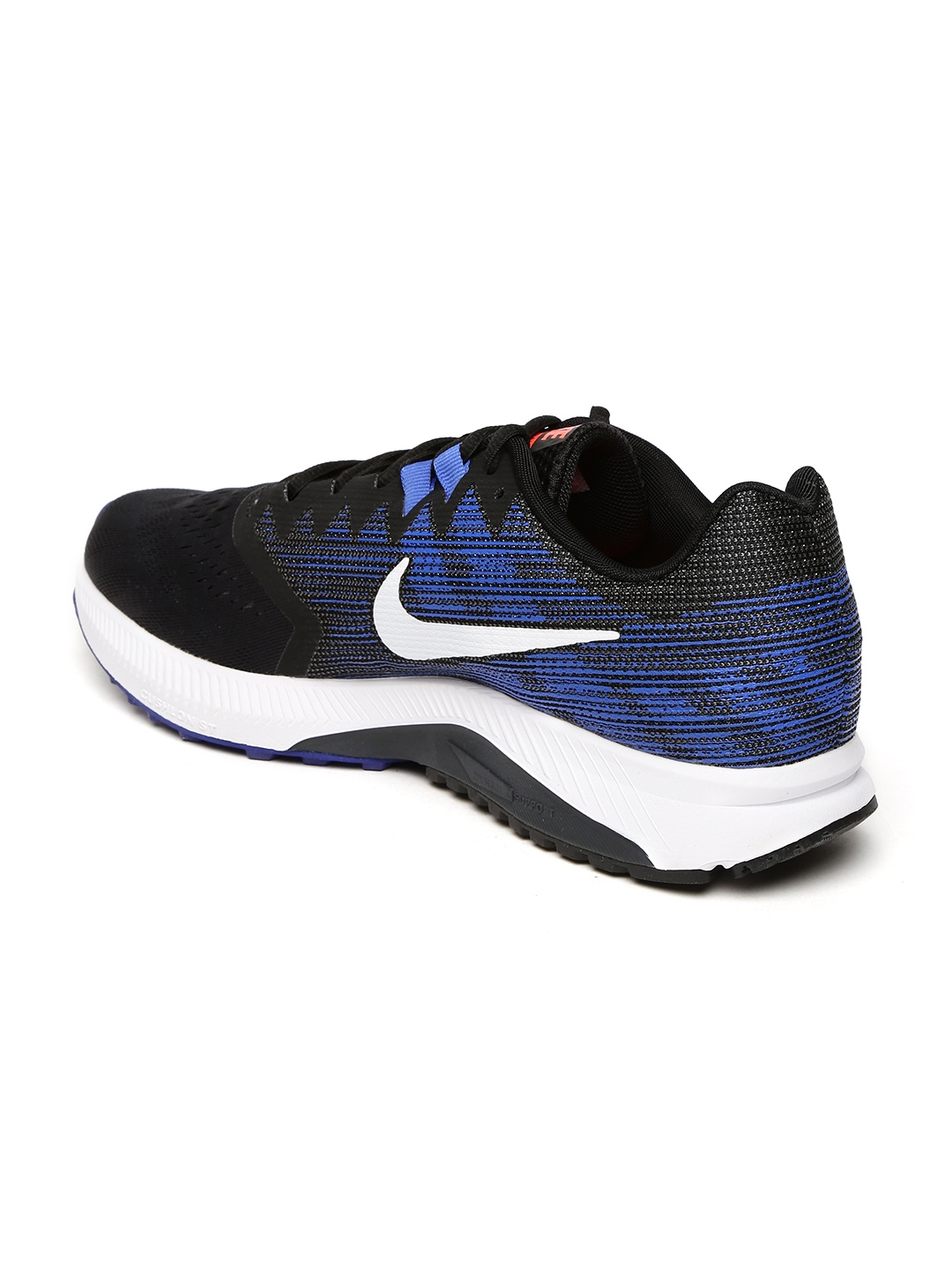 d3237d2df3084 Buy Nike Men Black   Blue ZOOM SPAN 2 Running Shoes - Sports Shoes ...