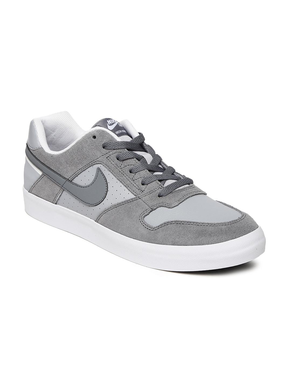 buy popular 04980 9f00a Nike Men Grey DELTA FORCE VULC Skate Shoes