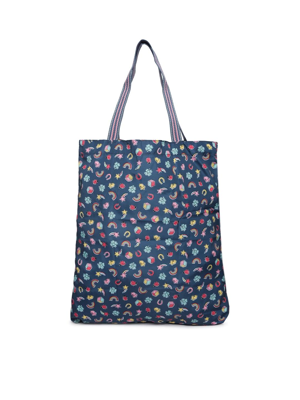 6ee409565d Buy Cath Kidston Blue Printed Foldaway Tote Bag - Handbags for Women ...