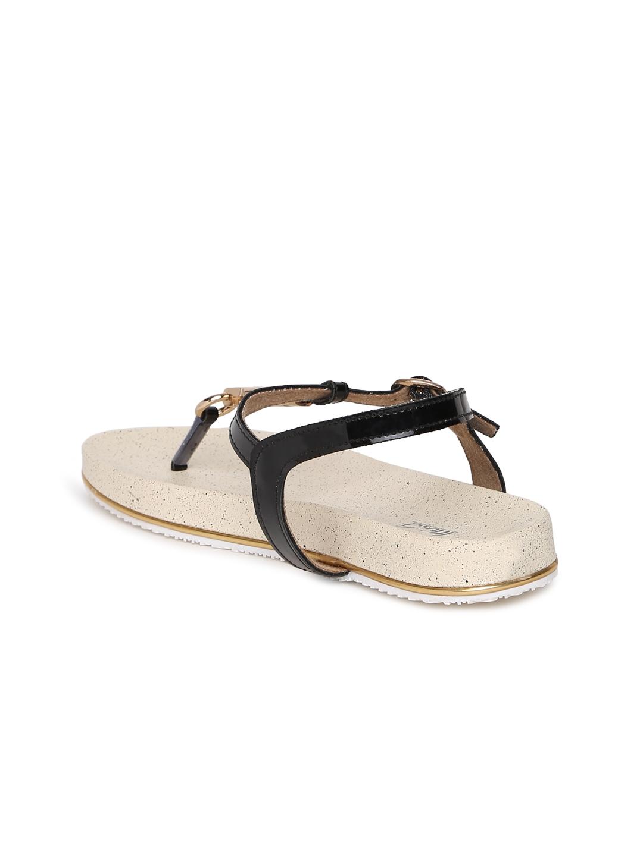 a9760017de2da7 Buy Inc 5 Women Black T Strap Flats - Flats for Women 2149427