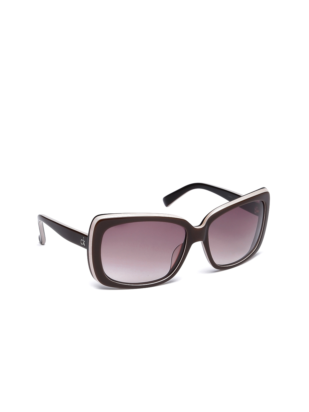 07544bd1a48 Buy Calvin Klein Women Square Sunglasses Ck 4087 196 S - Sunglasses ...
