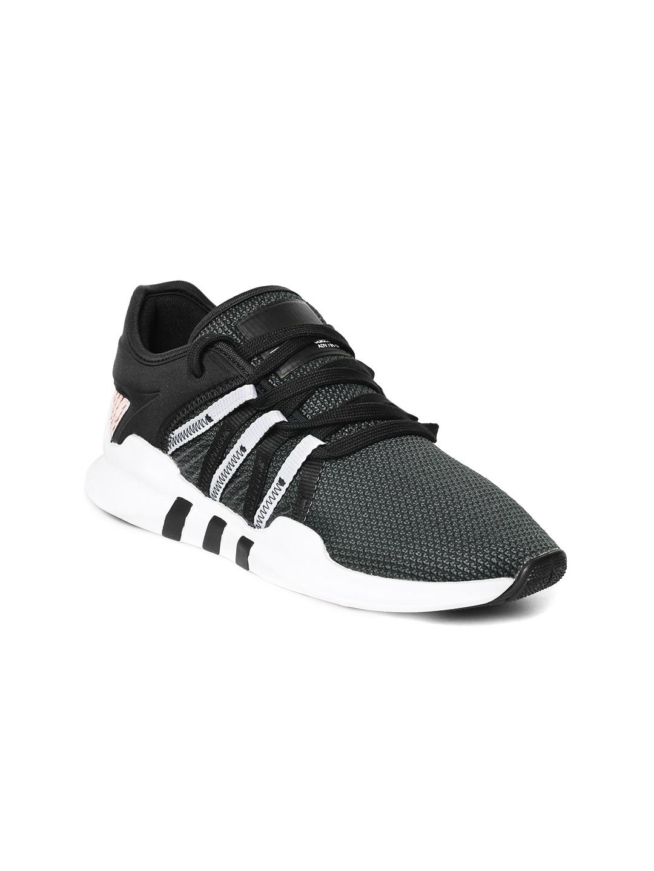 size 40 0daca 4c84b ADIDAS Originals Women Charcoal Grey Equipment Racing ADV Sneakers