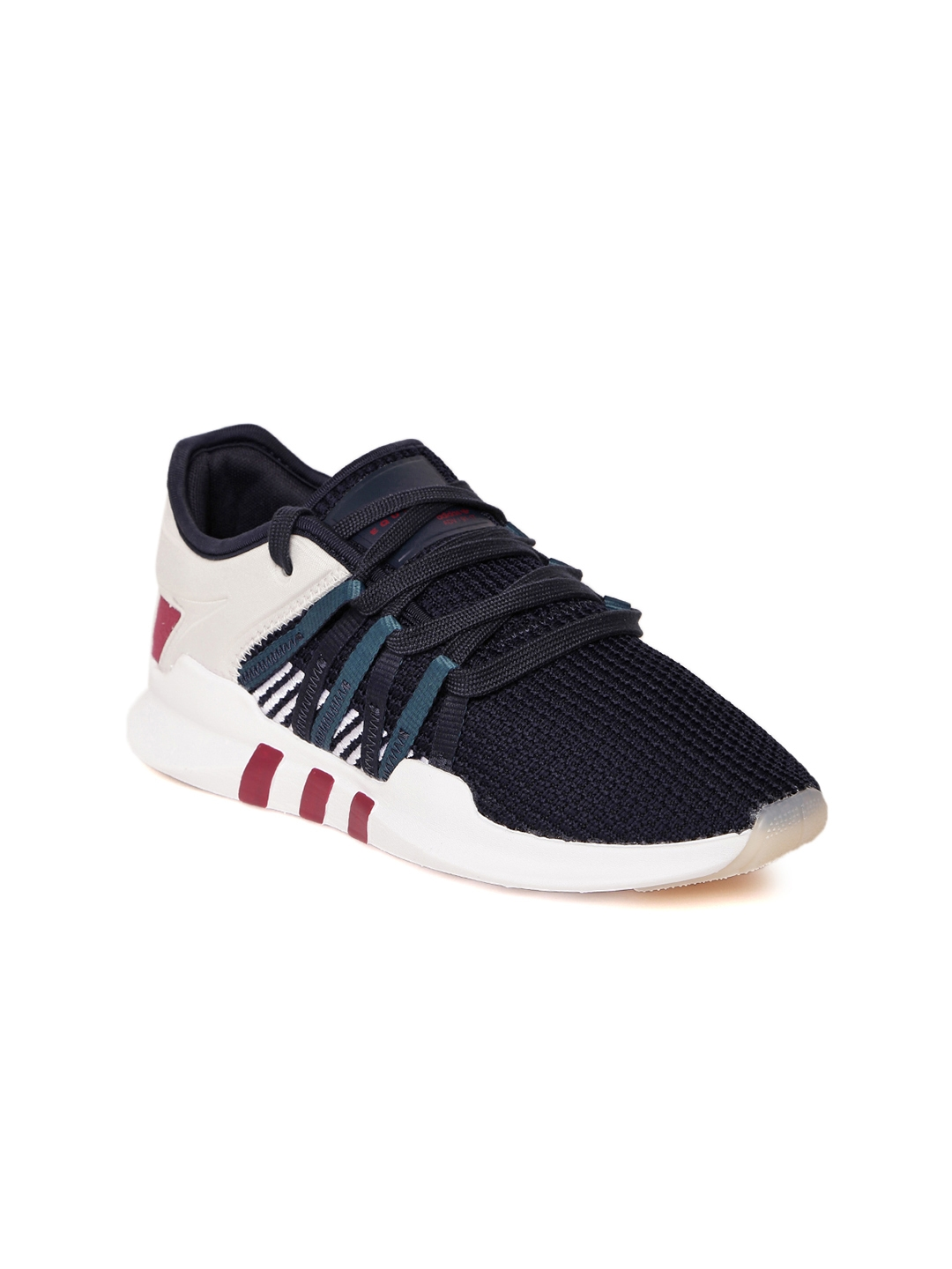 the latest bc0c4 0665b ADIDAS Originals Women Navy  Off-White EQT Racing ADV Sneakers