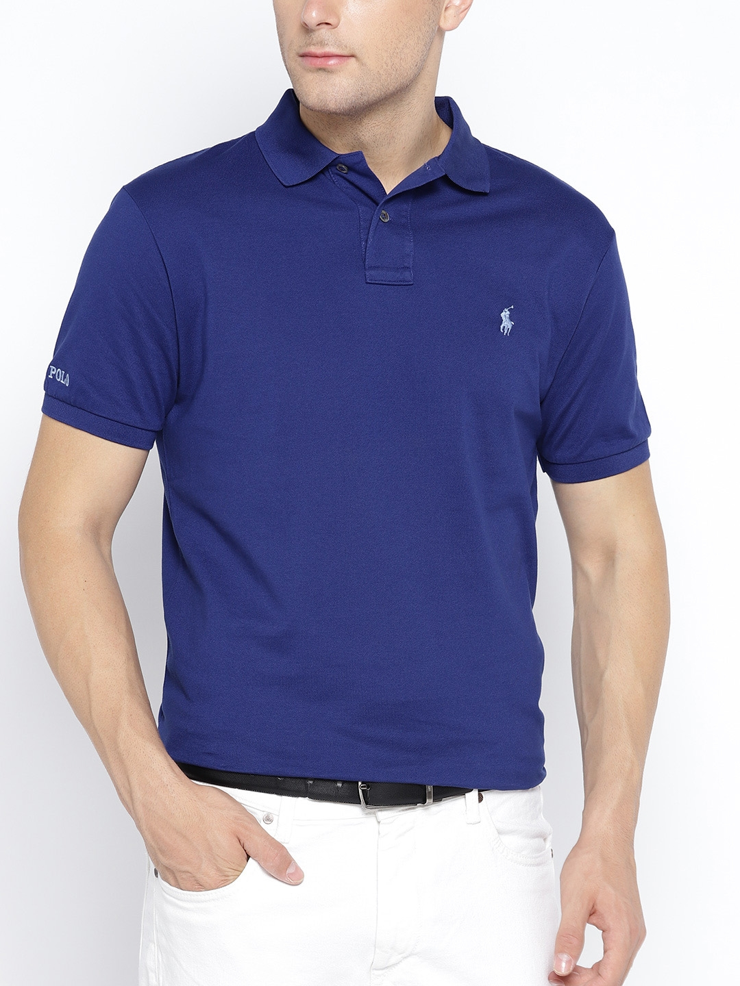 828e85d373a Buy Polo Ralph Lauren Custom Slim Fit Mesh Polo Shirt - Tshirts for ...