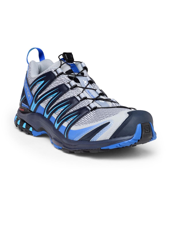 e2aea57b2d2a Buy Salomon Men Blue   Grey Xa Pro 3D Running Shoes - Sports Shoes ...