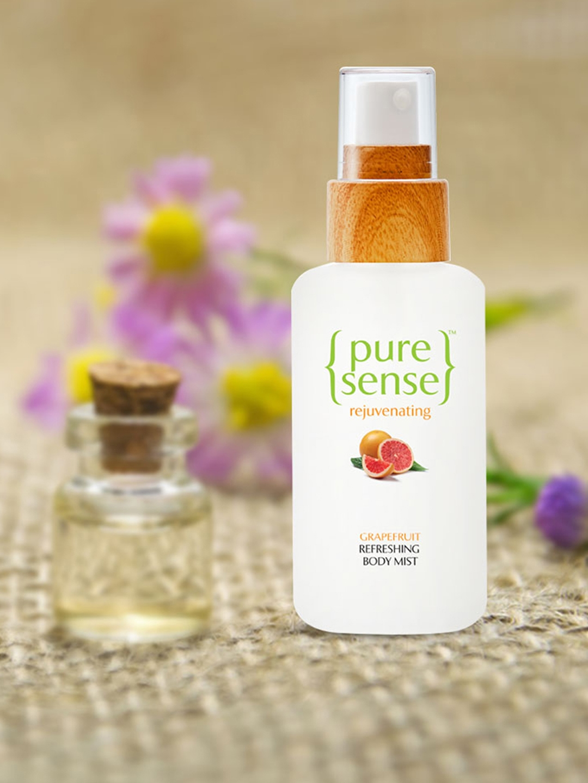 Buy PureSense Refreshing Grapefruit Body Mist 100 Ml - Perfume And Body  Mist for Women 2170283   Myntra