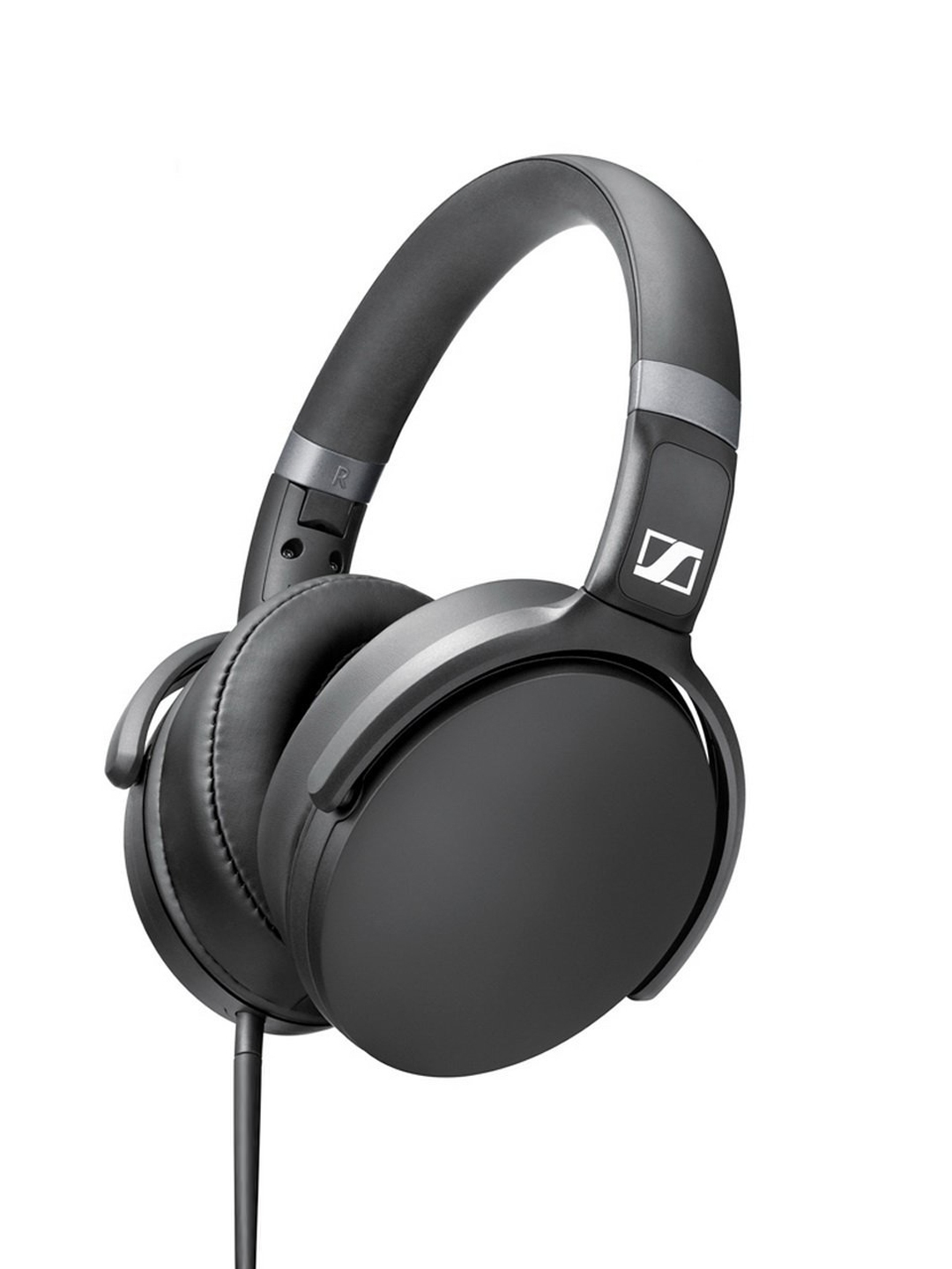 Sennheiser Black HD 4.30I Foldable Headphones with Mic Sennheiser Headphones