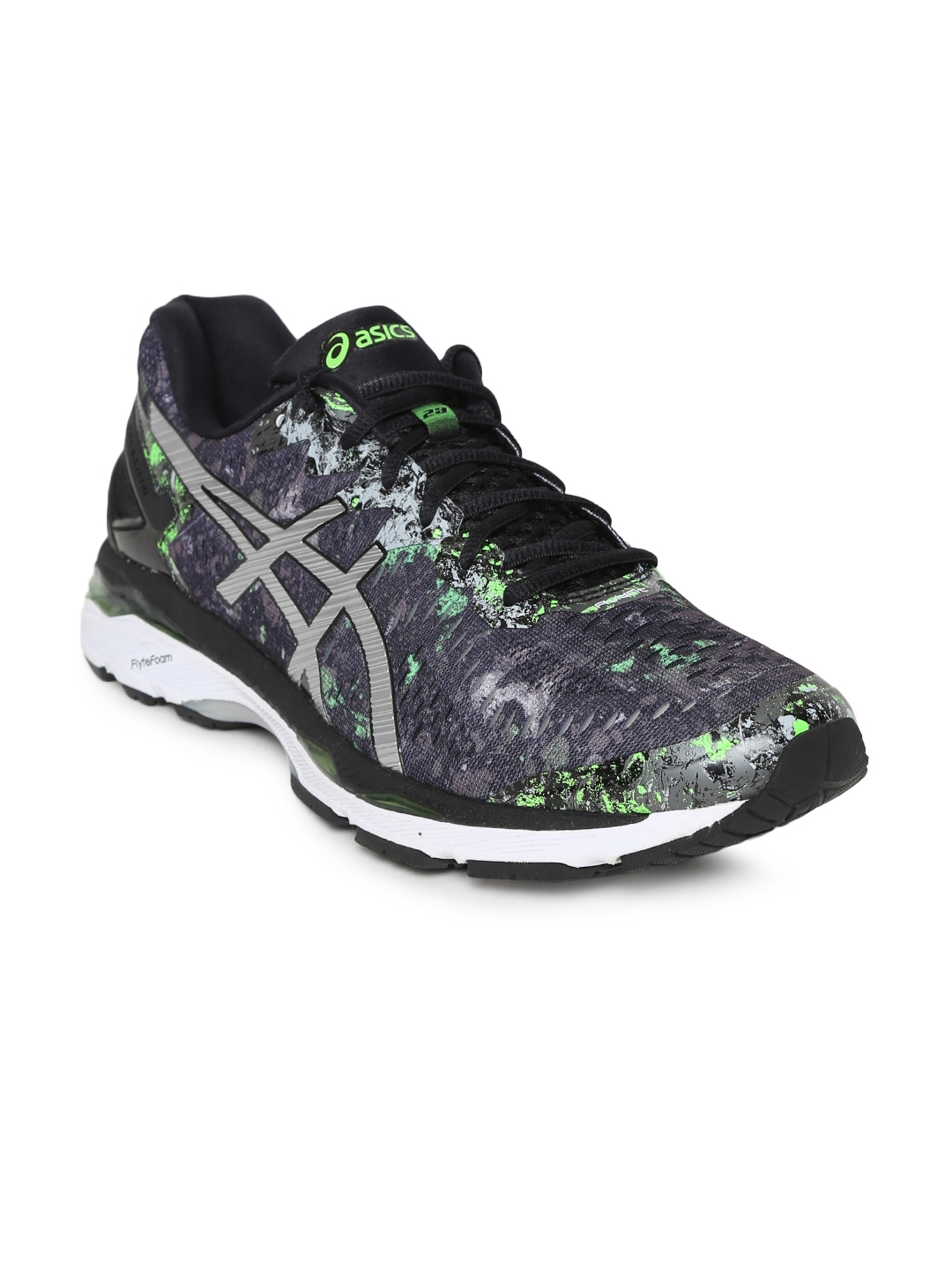 Buy ASICS Men Grey GEL KAYANO 23 Running Shoes - Sports Shoes for ... 5bef02862f