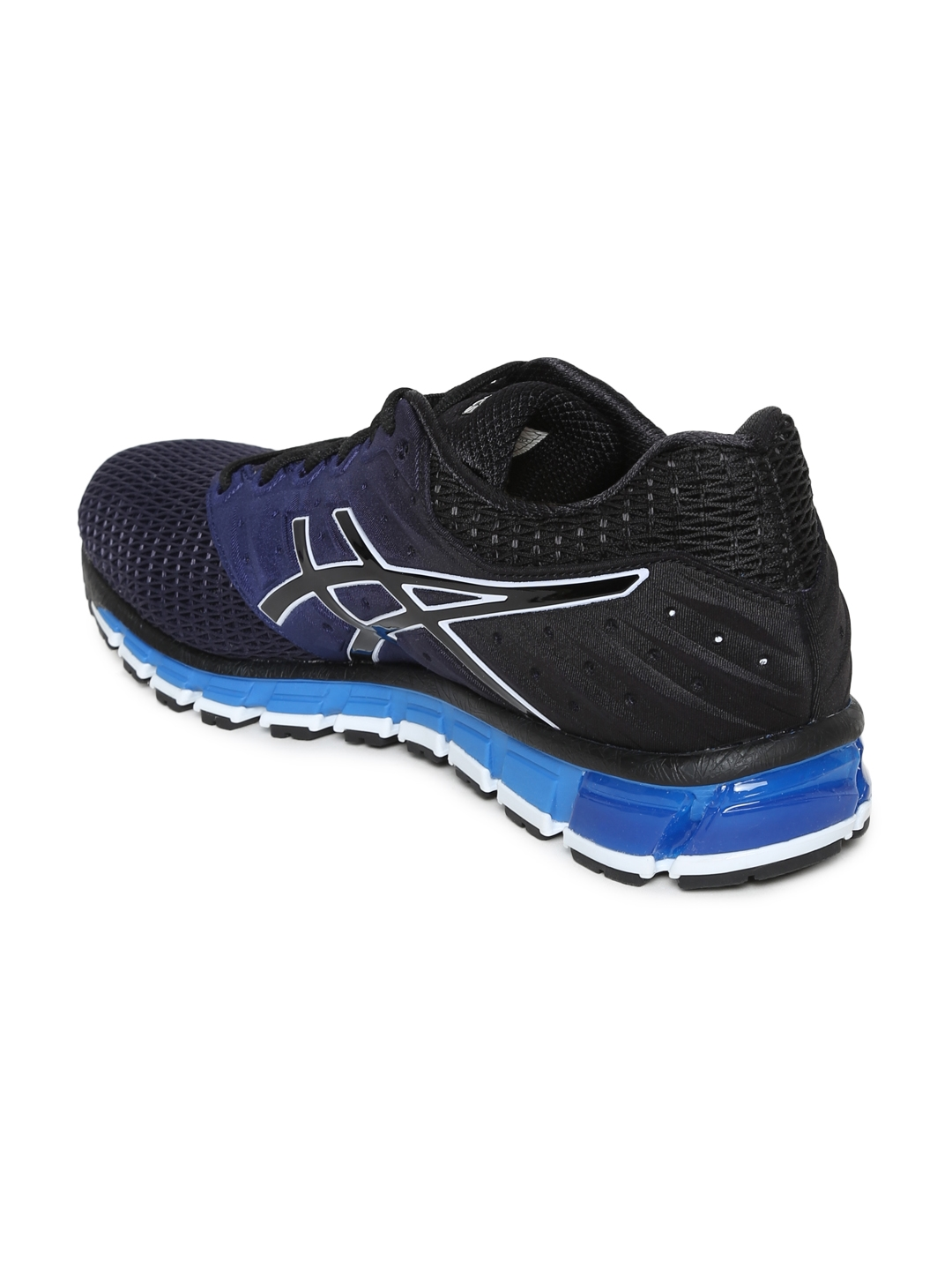 c101f7c5fc3d Buy ASICS Men Navy Blue GEL QUANTUM 180 2 Running Shoes - Sports ...