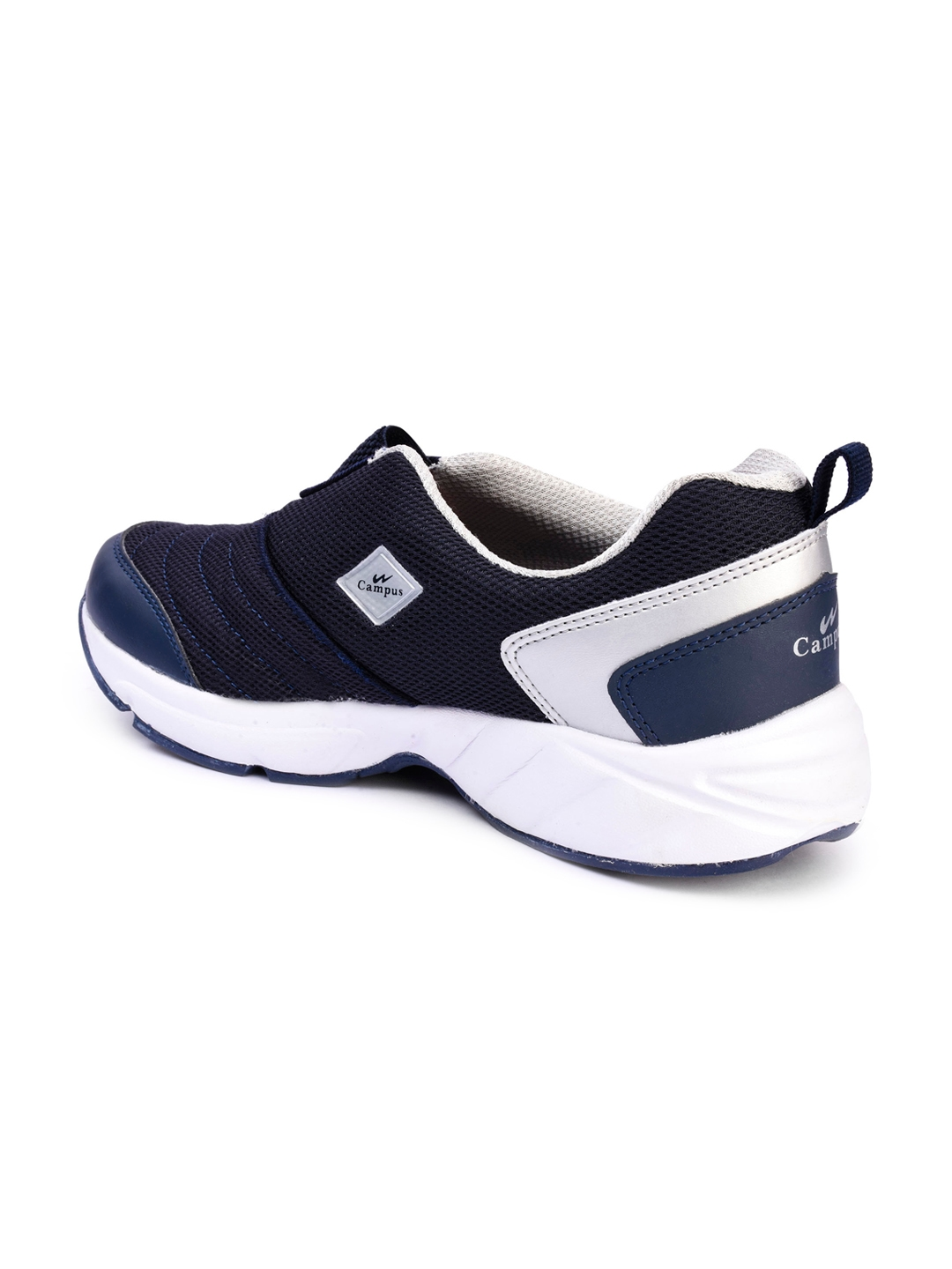 c563869c9f87a Buy Campus Men Montaya Navy Slip On Sneakers - Casual Shoes for Men ...