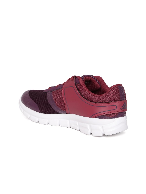 d5c9bfdb6528 Buy ADIDAS Women Purple   Burgundy Avitori Training Shoes - Sports ...
