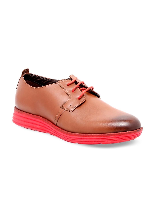 Buy Florsheim Men Brown Leather Derbys