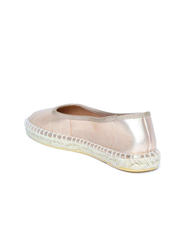 2b2b2b14c Buy Steve Madden Women Gold Toned Leather Espadrilles - Casual Shoes ...