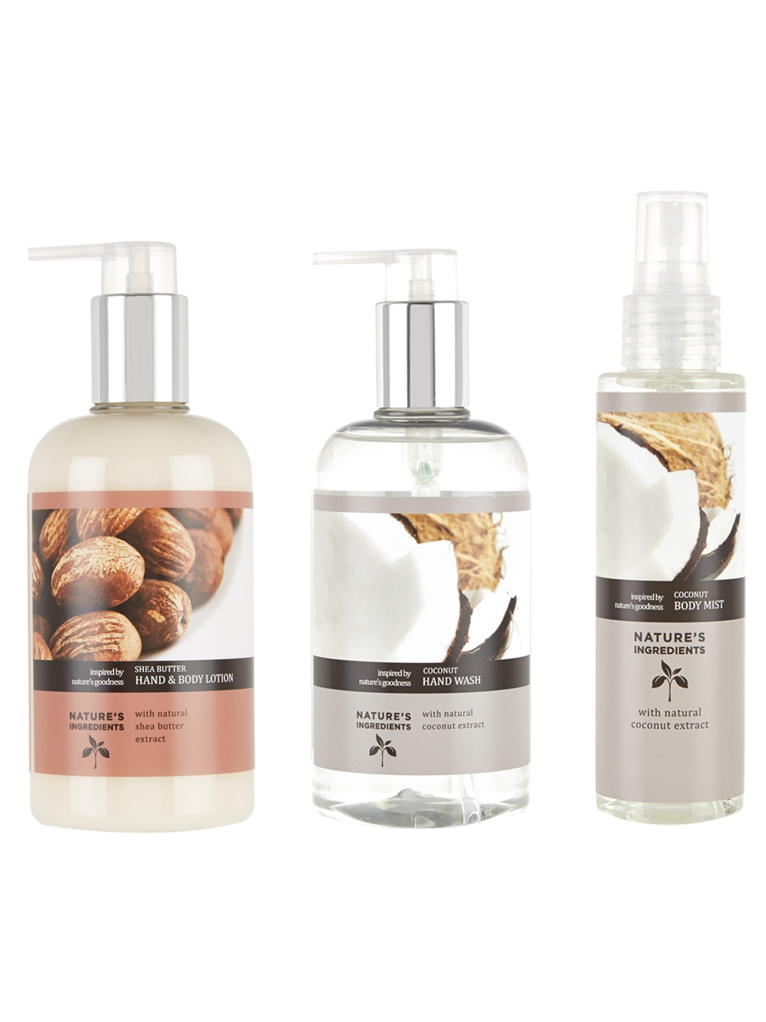 Buy Marks & Spencer Nature\'s Ingredients Bath & Body Gift Set 725 Ml ...