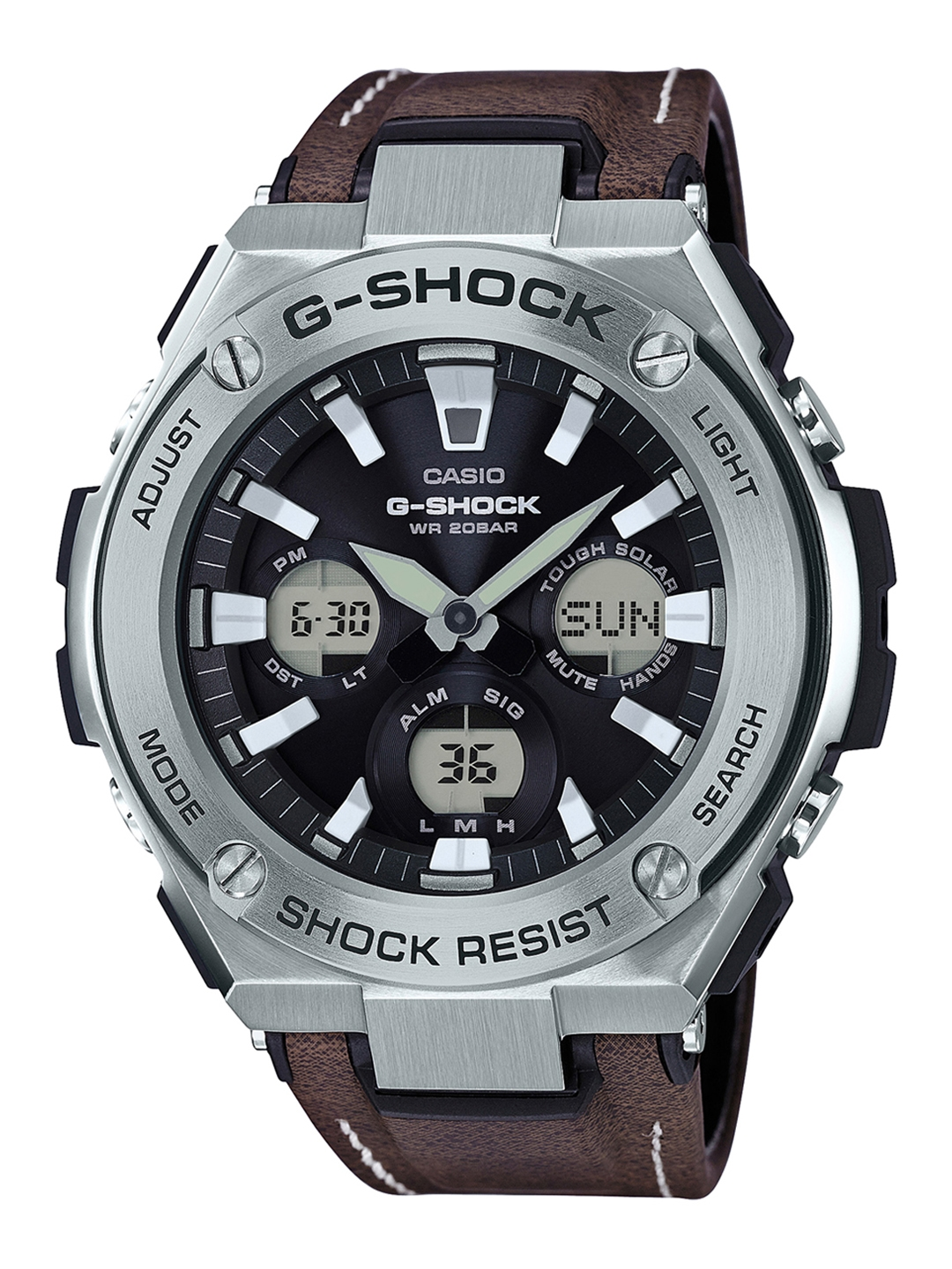 cdbc317d7cc CASIO G-Shock Men Black Analogue and Digital Chronograph Watch  GST-S130L-1ADR G737