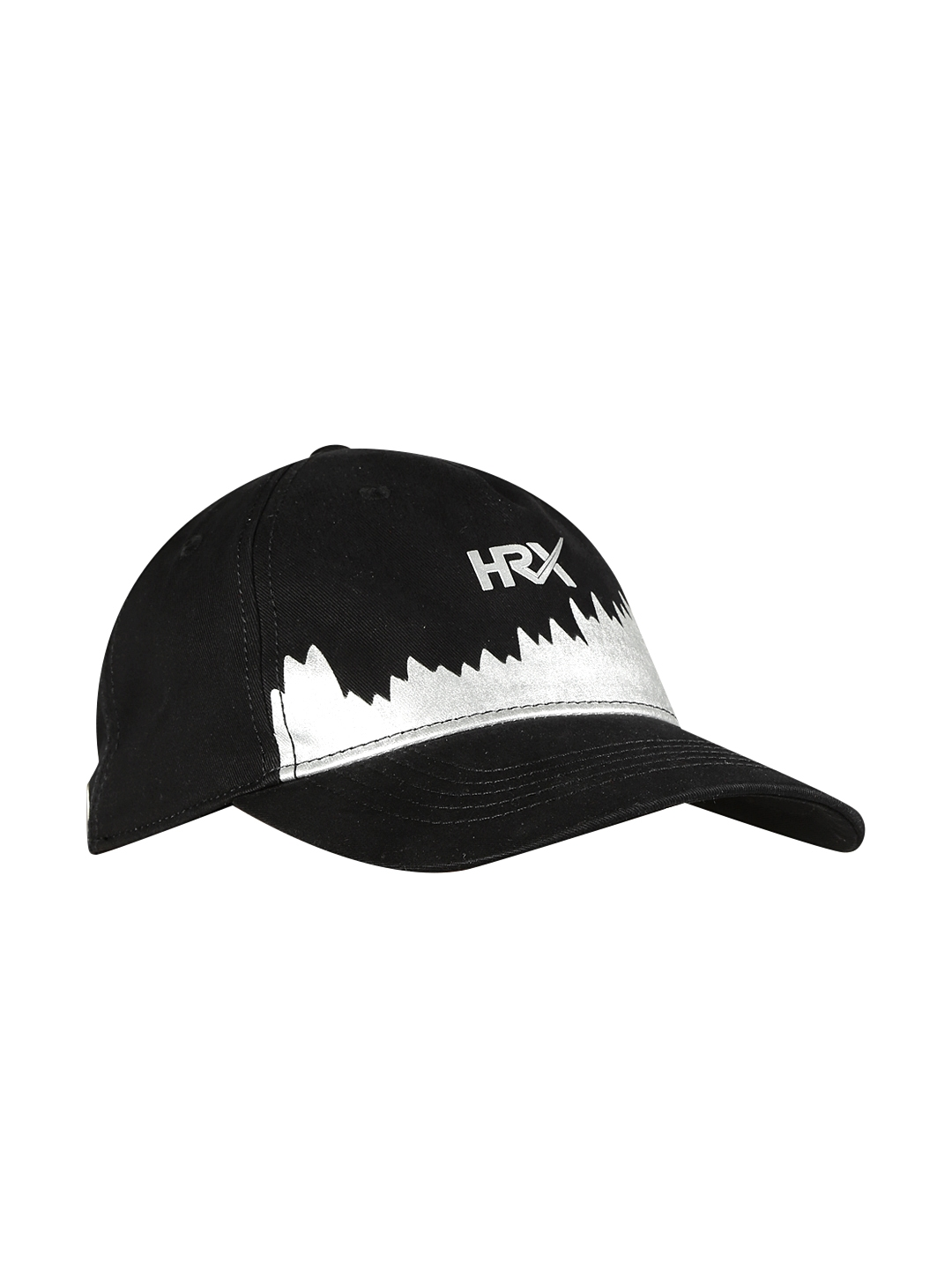 13595cfc6df Buy HRX By Hrithik Roshan Men Black Printed Baseball Cap - Caps for ...