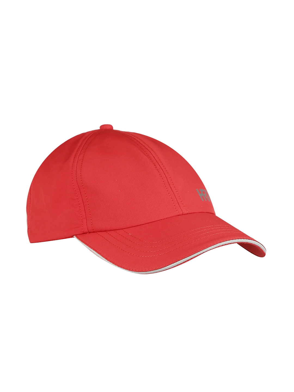 innovative design 02a2e 37f0f HRX by Hrithik Roshan Men Red Solid Baseball Cap